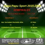 SEMIFINALES COPA PAPU SPORT 2015-2016