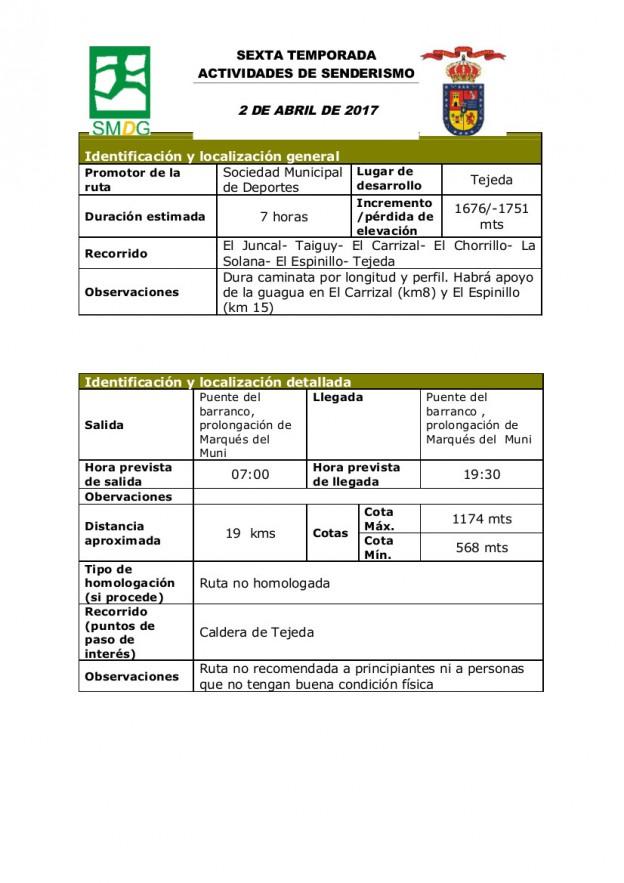 1ficha sendero 2 de ABRIL de 2017 (VI TEMPORADA) (1)