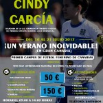 """El """"I CAMPUS CINDY GARCÍA"""","""