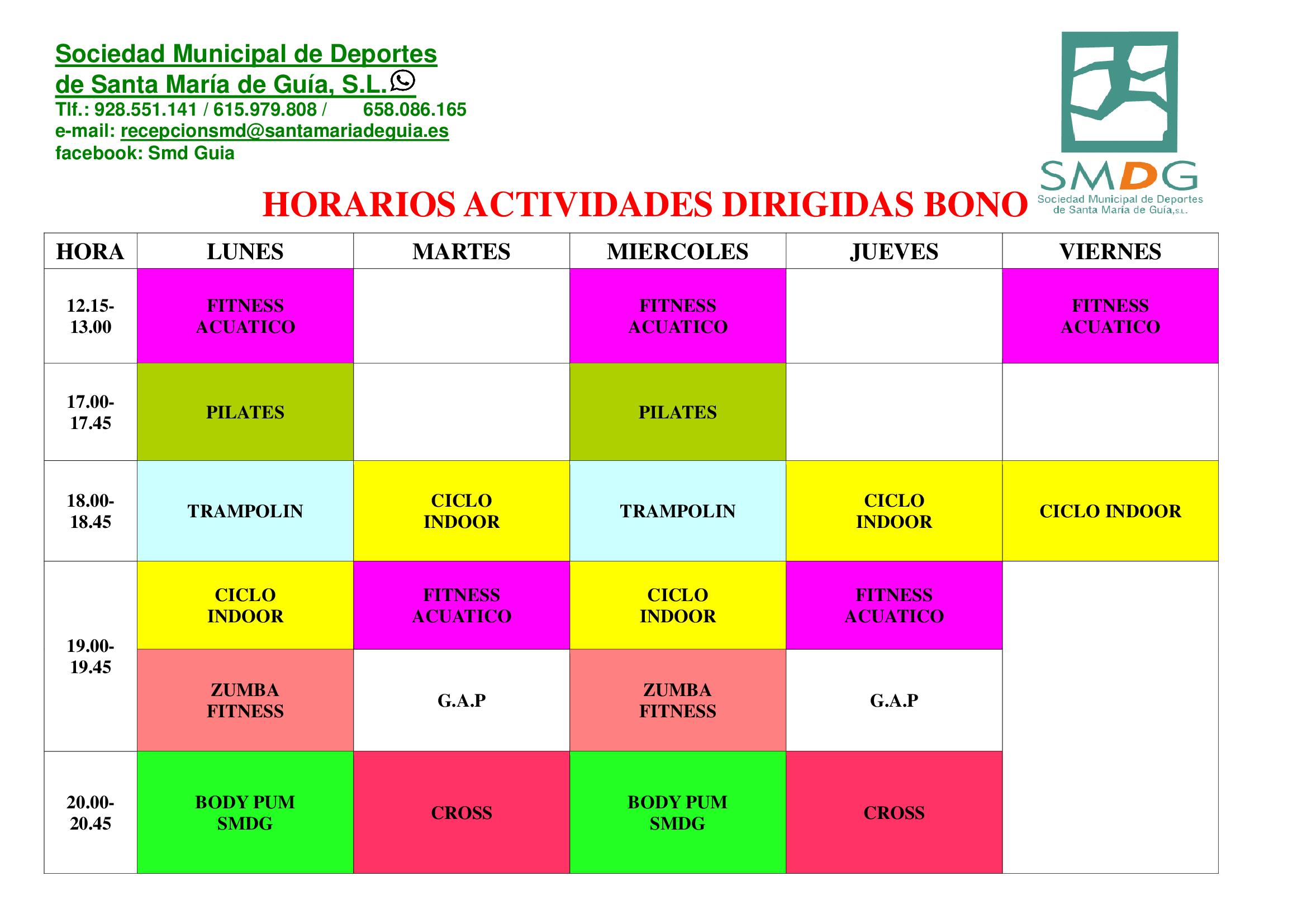 HORARIOS-ACTIVIDADES-DIRIGIDAS-JULIO