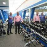 Obras de mejora en el Gimnasio de las instalaciones deportivas