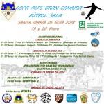 Final de la Copa ACFS de Gran Canaria de Fútbol Sala en el Pabellón Beatriz Mendoza Rivero.