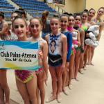 El Palas-Atenea de Santa María de Guía renueva 4 plazas para el Campeonato de España de Gimnasia Rítmica
