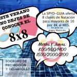 Promoción natación verano 2018 SPyD- Guía